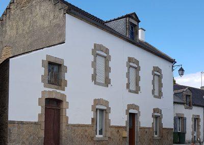 Ravalement de façade à Crac'h après