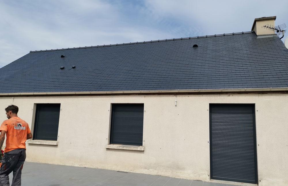 peinture toiture vannes